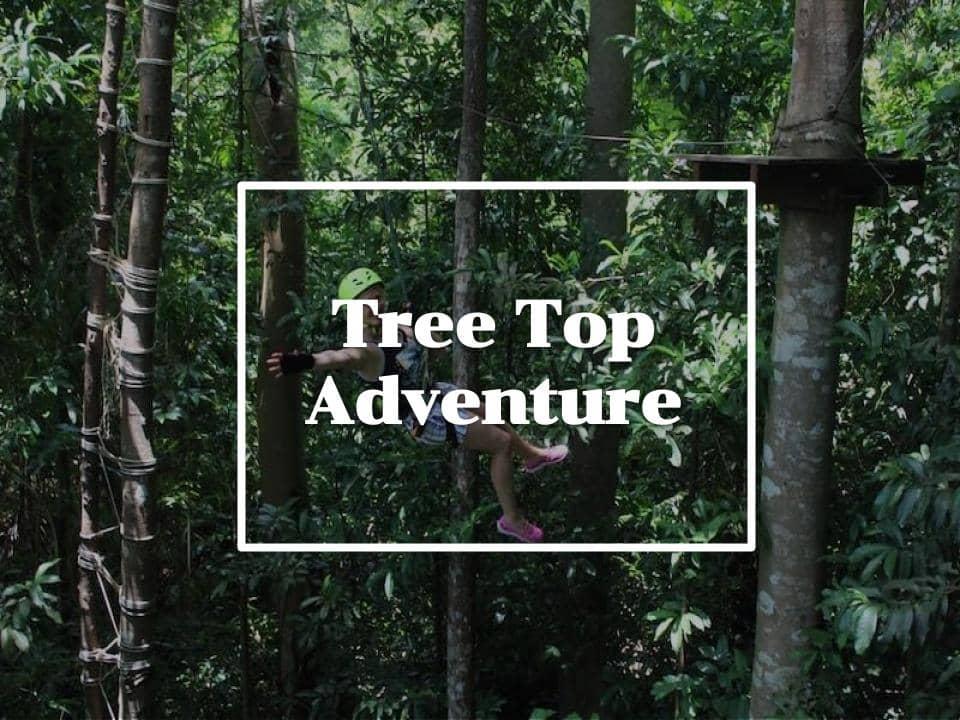 Tree Top Adventure เกาะช้าง ตราด