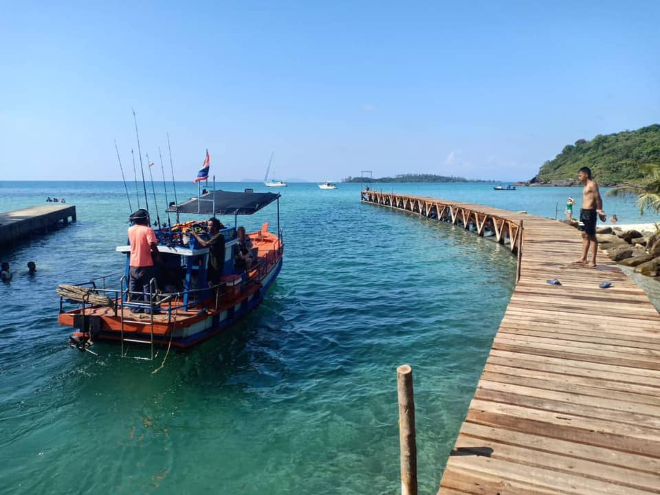 ตีตั๋วไปเกาะกูด ไปทำกิจกรรมกู๊ดๆกัน  ดำน้ำ ตกหมึก ด้วยเรือไม้แบบส่วนตั๊วส่วนตัว